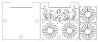 Схема крышки v.1.3 для аквариума Aquael Shrimp Set 30