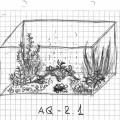 Схема обустройства аквариума aq-2.1